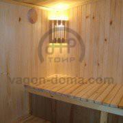 Вагон-дома сауны с душем